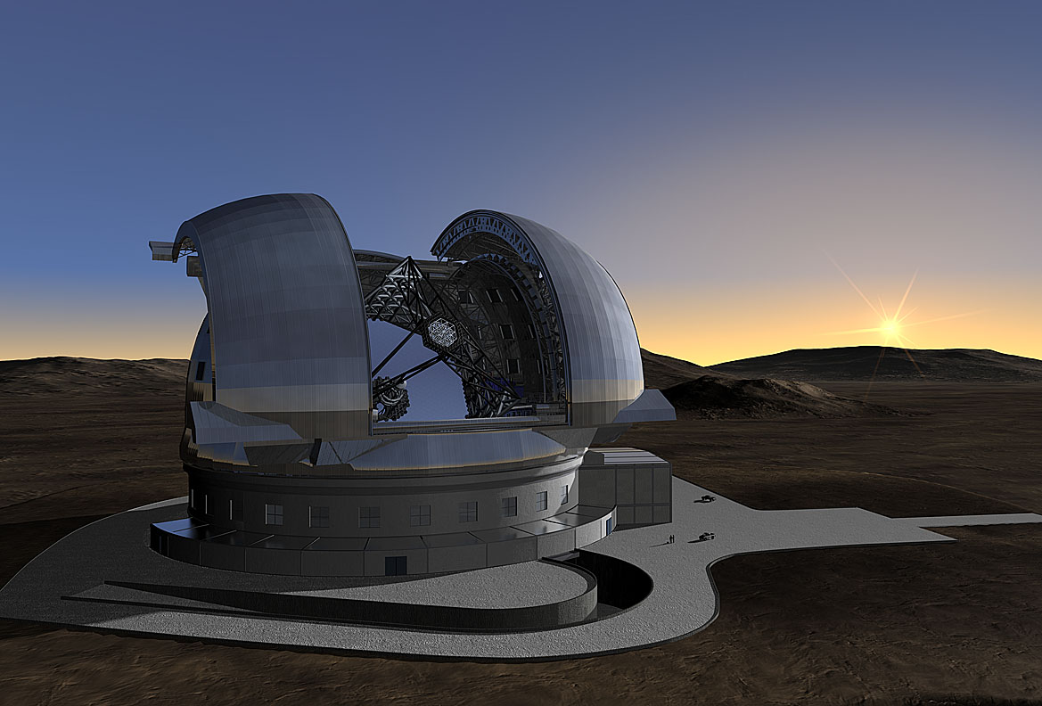 "O ""European Extremely Large Telescope"" (http://www.roe.ac.uk)"