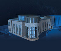 The Higgs Centre for Innovation Illustration
