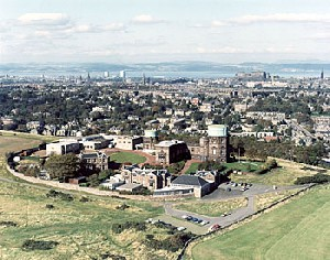 Aeriel photograph of the Royal Observatory Edinburgh